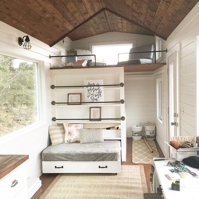Jacob and Ana White Show How to Build a Tiny House Tiny House Design