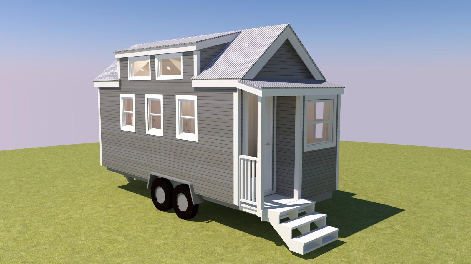 4 New 3D Tiny House Tour Videos - Tiny House Design