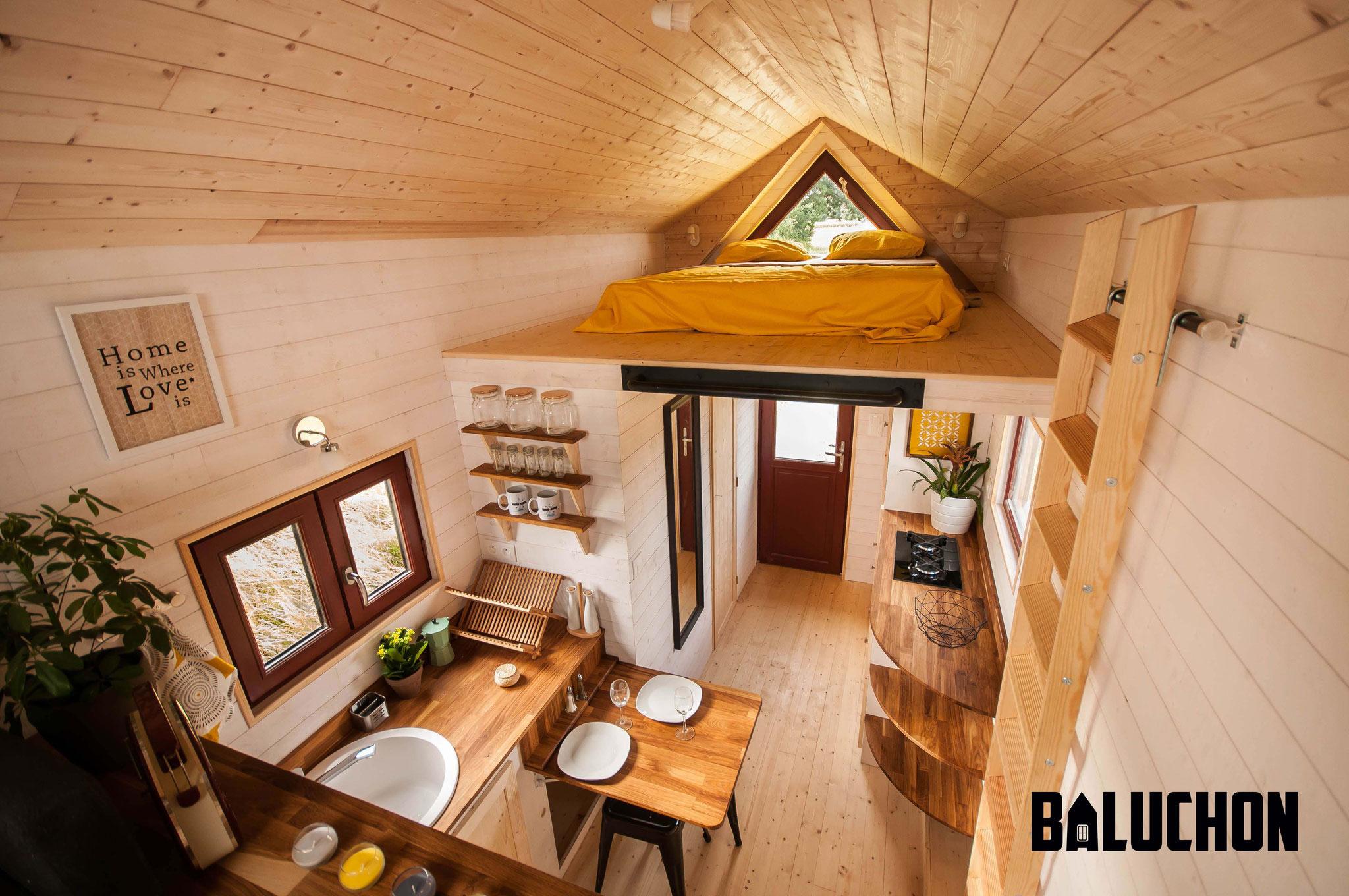 L'Odyssée - French Tiny House - Tiny House Design